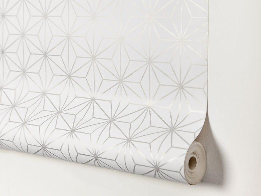 Papier peint lé unique à motifs géométriques en papier ENCADENADOS