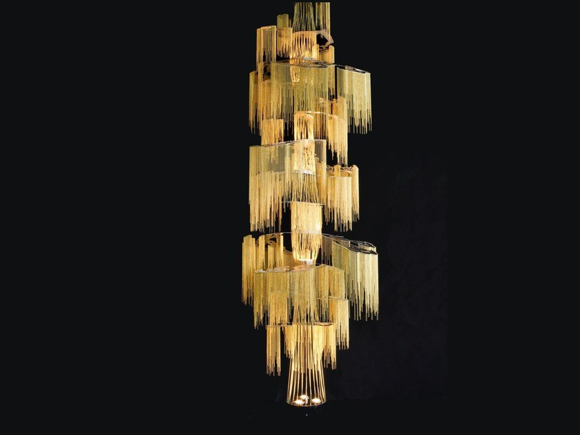 Chandelier ENCHANTED FARAWAY TREE by Willowlamp