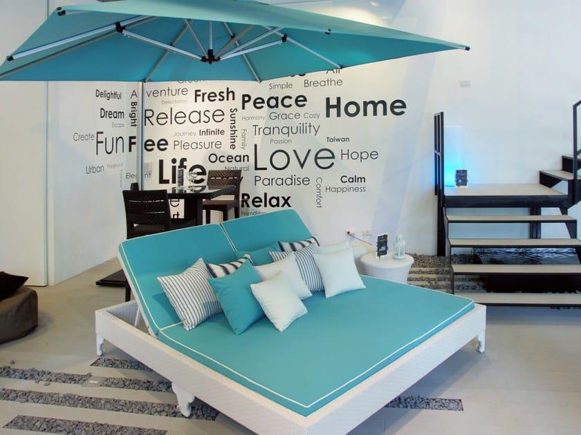 Double garden bed ENCORE | Double garden bed by 7OCEANS DESIGNS