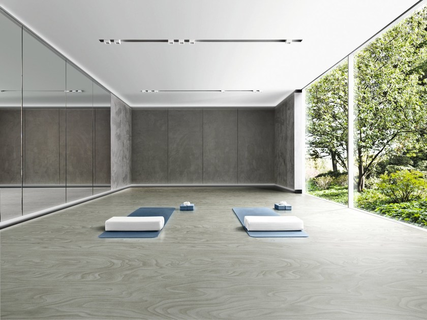 Ecological flooring with wood effect ENDLESS WOOD by Vorwerk Teppichwerke