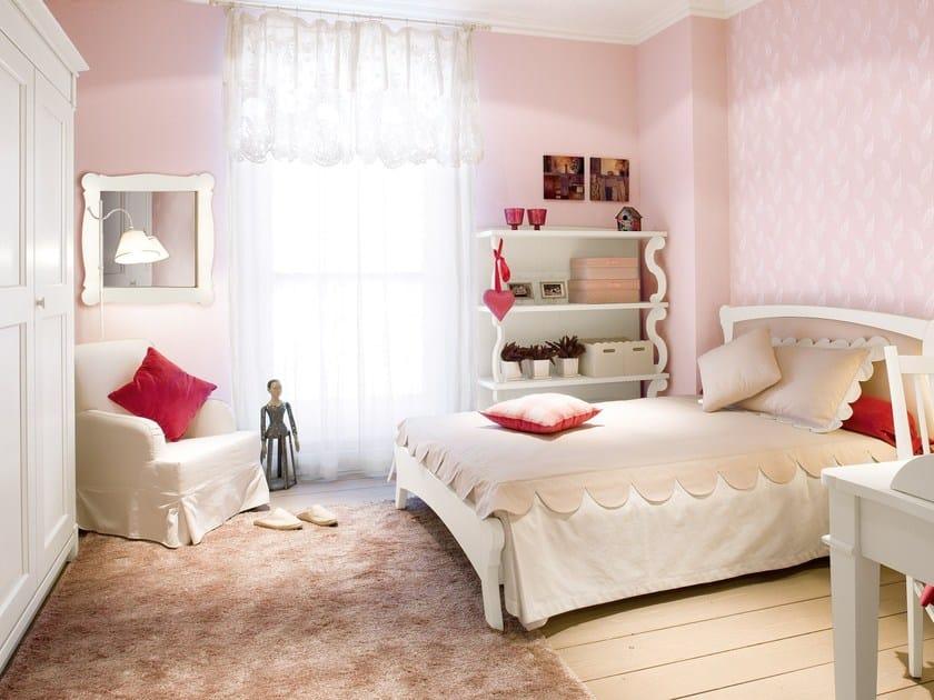 Solid wood bedroom set for girls ENGLISH MOOD | Bedroom set for girls by Minacciolo