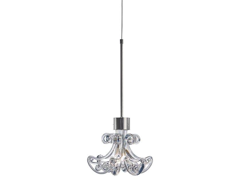 Direct light crystal pendant lamp ENGLISH ROSE H1 by ILFARI