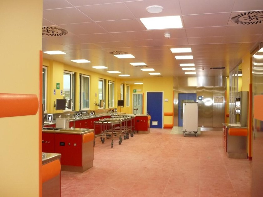 Ceiling tiles for healthcare facilities ENIGMA MATROX A TENUTA | Ceiling tiles for healthcare facilities by atena