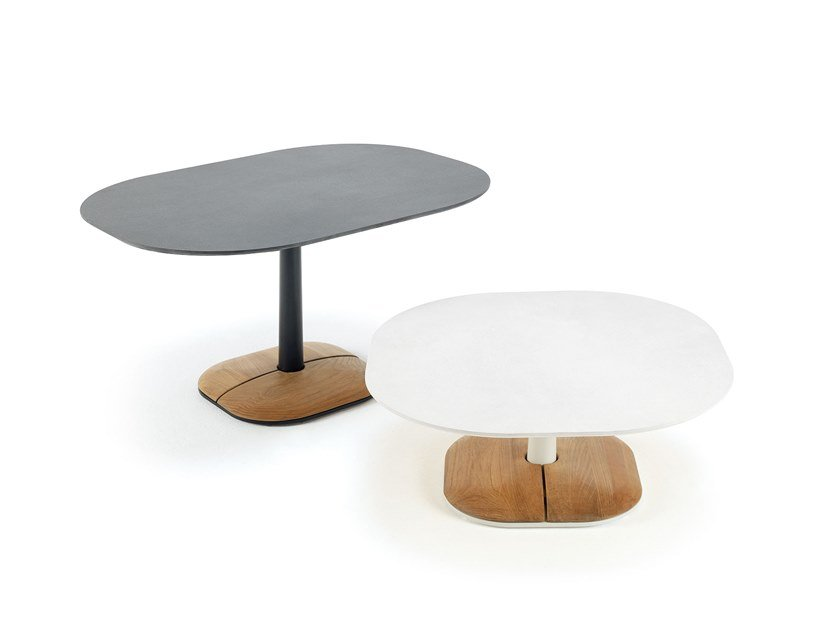 Ceramic garden side table ENJOY | Coffee table by Ethimo