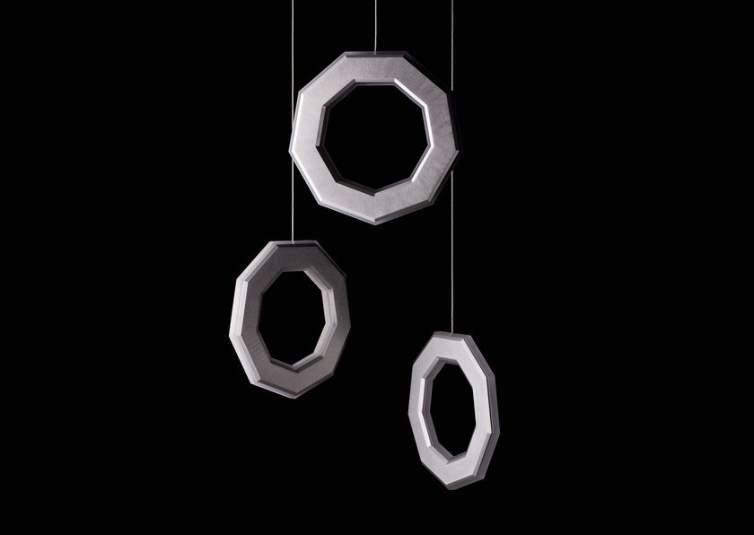 LED direct-indirect light pendant lamp ENNEA | Pendant lamp by Karice