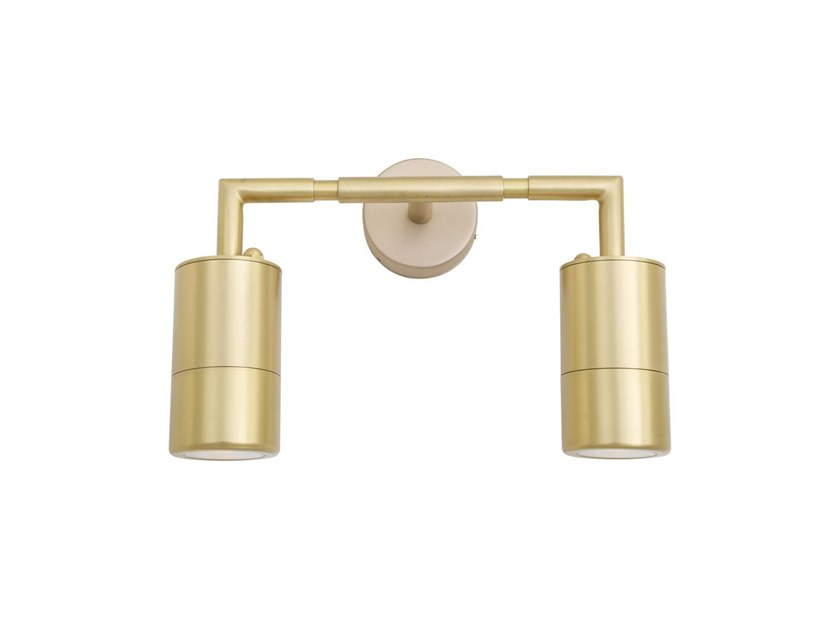 Lampada A DoubleApplique In Lighting Bagno Da Parete Ottone Led Ennis Mullan Per dCBxQtshr