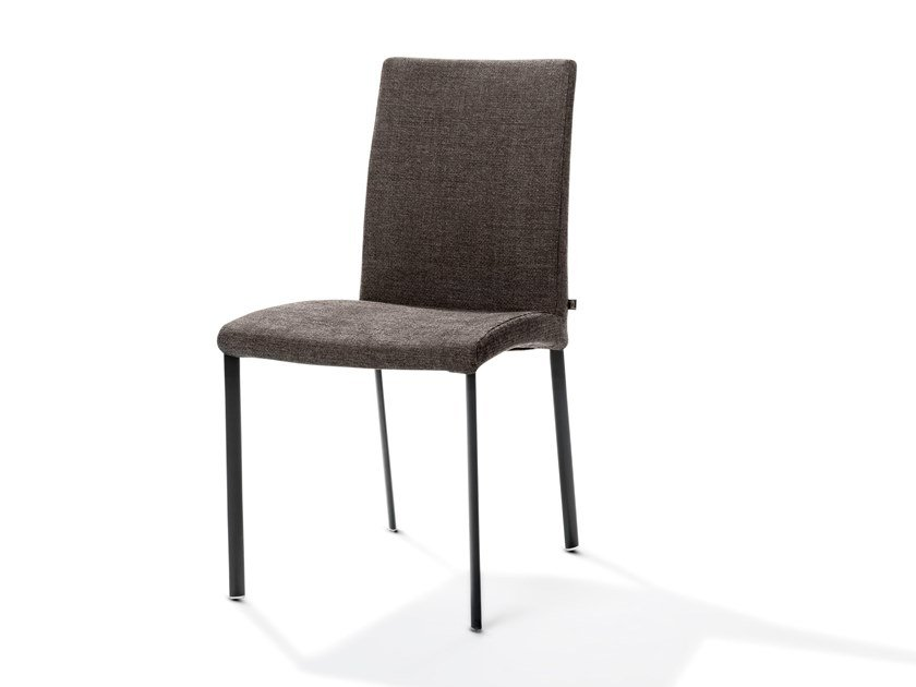 Upholstered fabric chair ENSOR | Fabric chair by Joli
