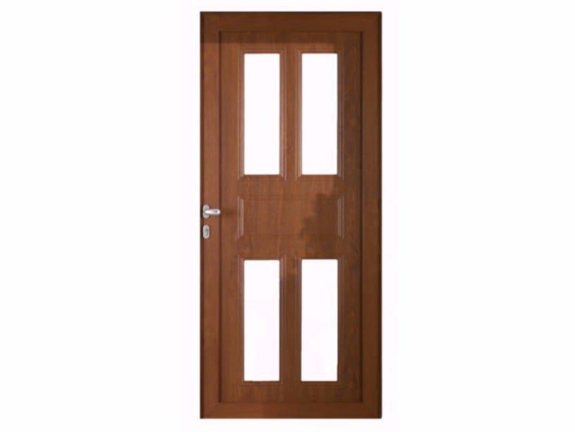 Exterior custom entry door ENTRY by FOSSATI PVC