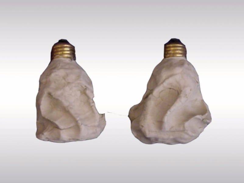 Light bulb ENTWERTETES LICHT by Woka Lamps Vienna