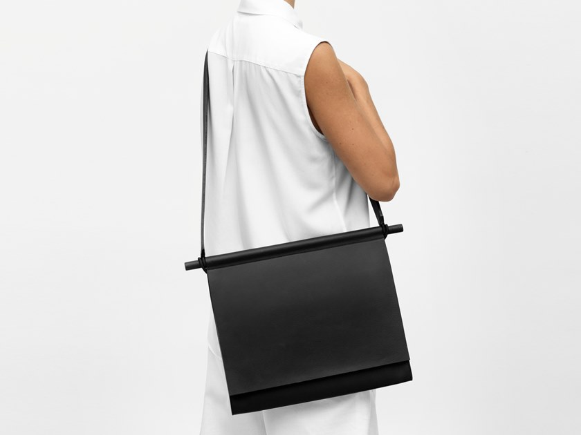 Leather bag ENVELOPPE by YUL