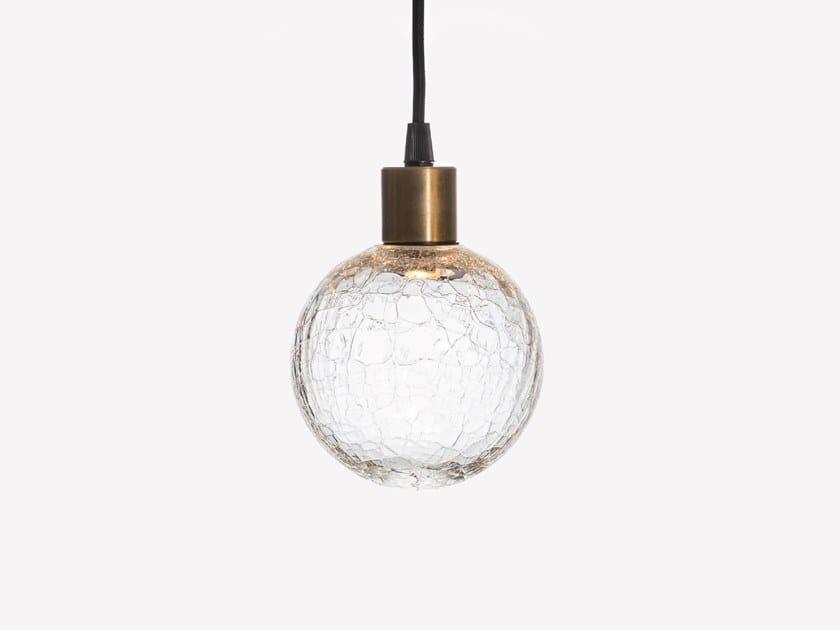 Lampada a sospensione a LED in vetro soffiato EON SANS S0 by ADesignStudio