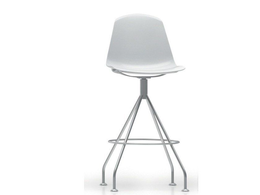 Trestle-based polypropylene chair EPOCA | Chair by Luxy