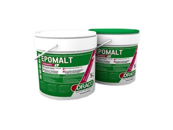 Mortar and grout for renovation EPOMALT by DRACO ITALIANA