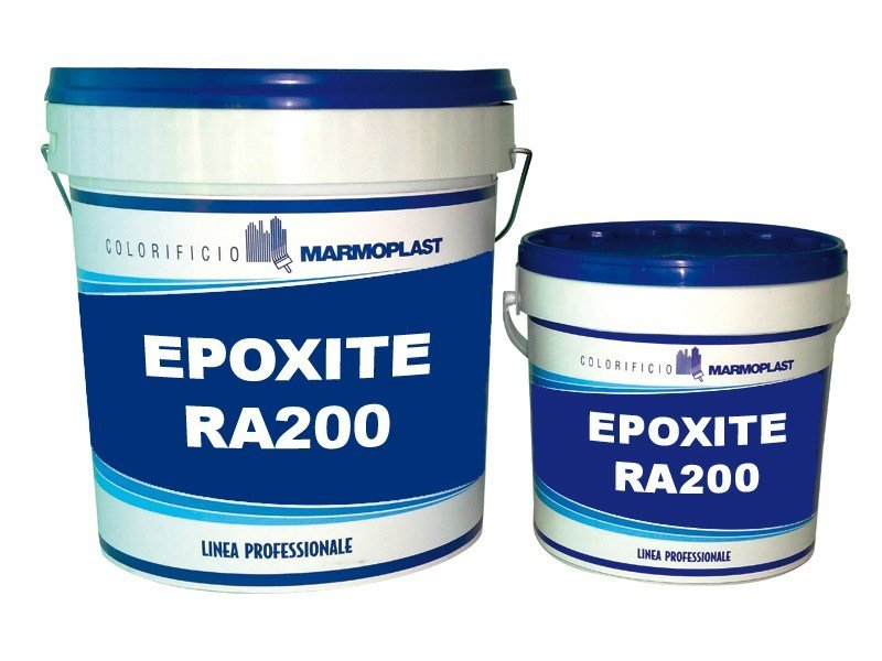 Flooring protection EPOXITE RA200 AUTOLIVELLANTE by Marmoplast