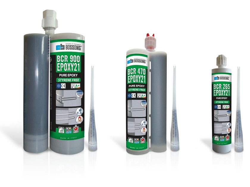 Ancorante chimico EPOXY21 by BOSSONG