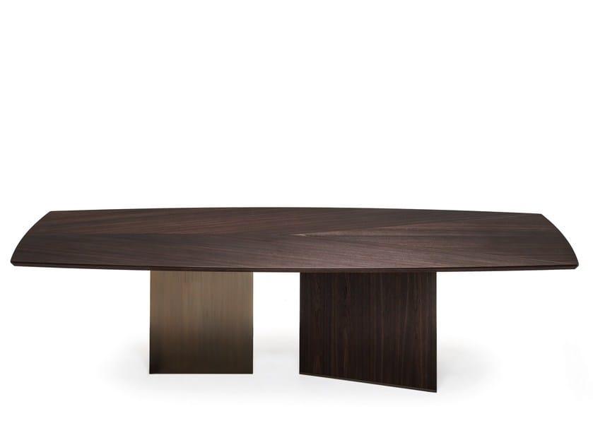 Tavolo da pranzo in legno EPSILON by Arketipo