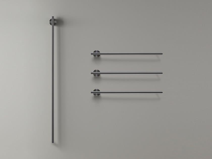 Scaldasalviette elettrico modulare in acciaio inox a parete EQUILIBRIO 44 by Ceadesign
