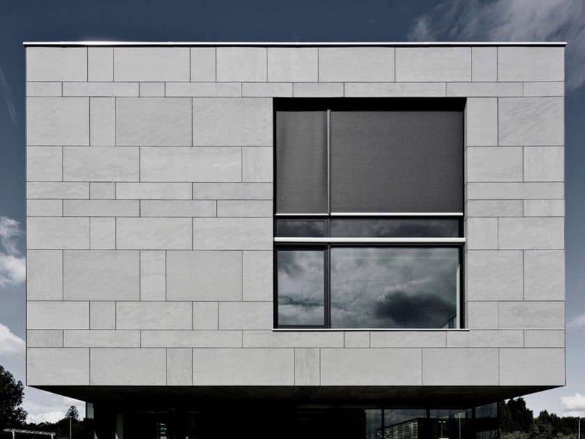 Fiber cement Panel for facade / Ventilated facade EQUITONE [tectiva] by CREATON ITALIA