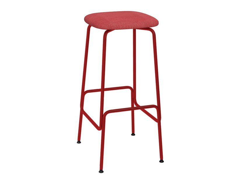 Fabric barstool EQUO | Fabric stool by Caussa