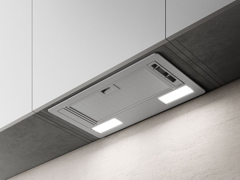 Built-in cooker hood with integrated lighting ERA by Elica