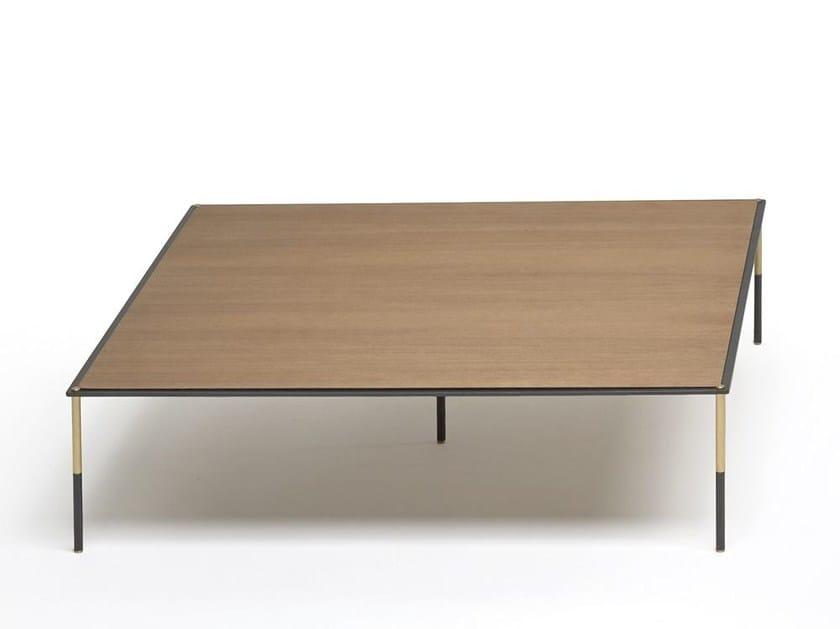 Square HPL coffee table ERA TABLE by Living Divani
