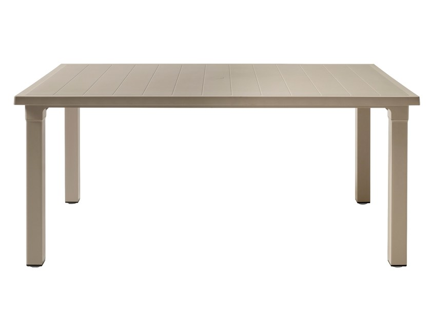 Rectangular technopolymer garden table ERCOLE by SCAB DESIGN
