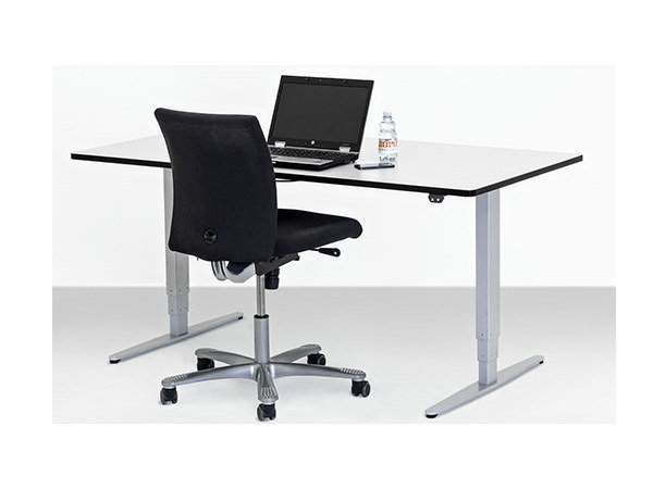 Height-adjustable workstation desk ERGO DESK by Ropox