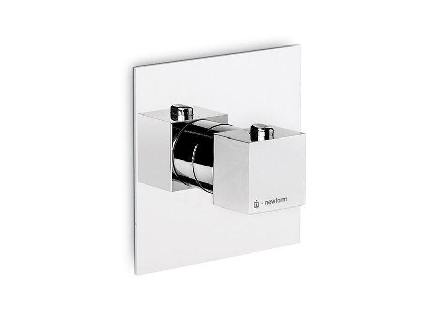 Thermostatic thermostatic shower mixer ERGO OPEN | Thermostatic shower mixer by newform