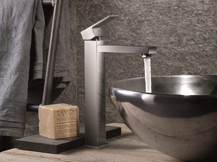 Miscelatore per lavabo monocomando monoforo senza scarico ERGO-Q | Miscelatore per lavabo senza scarico by newform