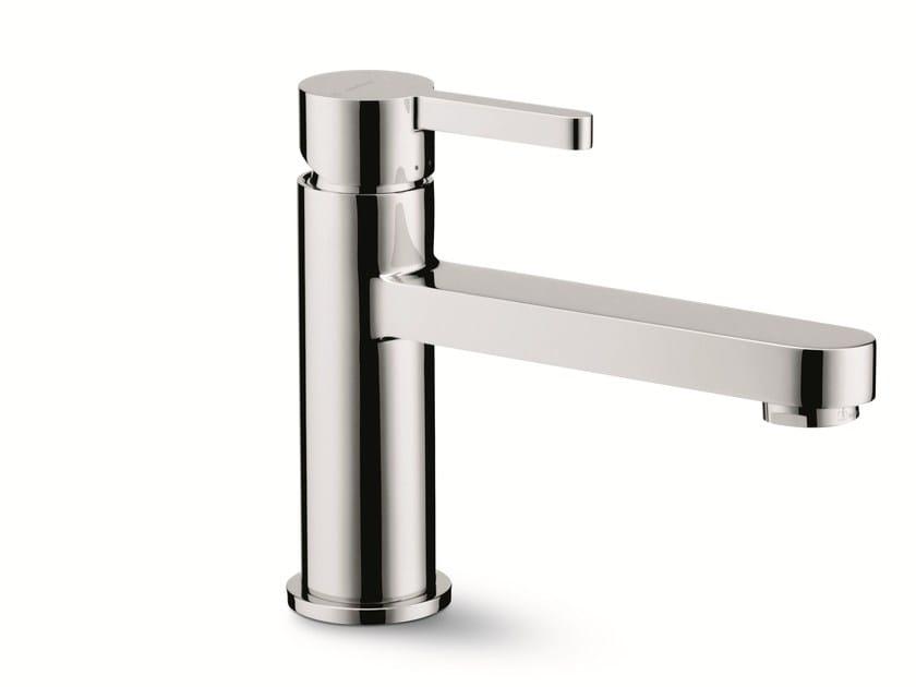 Single handle washbasin mixer without waste ERGO | Washbasin mixer without waste by newform