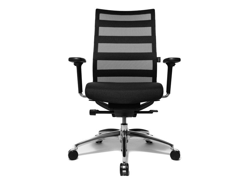 Swivel task chair with 5-Spoke base ERGOMEDIC 100-1 by WAGNER