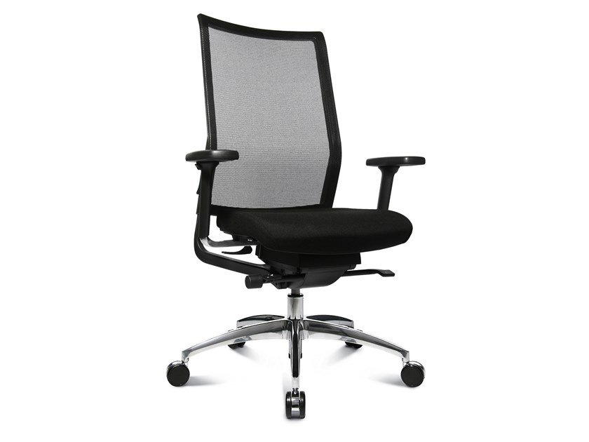 Swivel task chair with 5-Spoke base ERGOMEDIC 100-2 by WAGNER