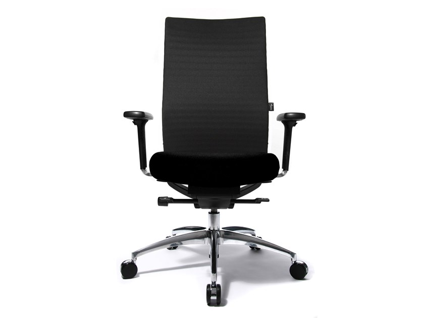 Swivel task chair with 5-Spoke base ERGOMEDIC 100-3 by WAGNER