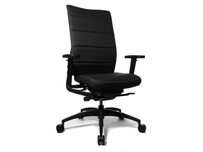 Swivel task chair with 5-Spoke base ERGOMEDIC 100-4 by WAGNER