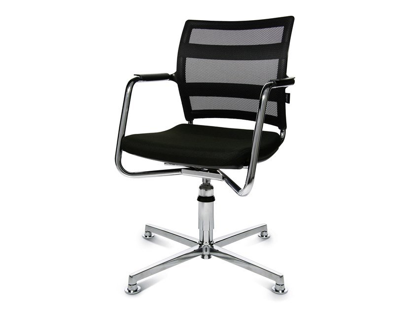 Swivel chair with 4-spoke base ERGOMEDIC 110-1 3D by WAGNER