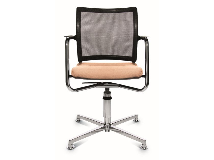 Swivel chair with 4-spoke base ERGOMEDIC 110-2 3D by WAGNER