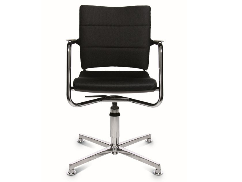Swivel chair with 4-spoke base ERGOMEDIC 110-4 3D by WAGNER