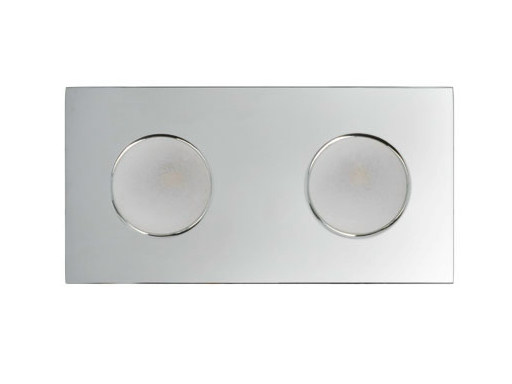 LED recessed stainless steel spotlight ERICA 2 by Quicklighting