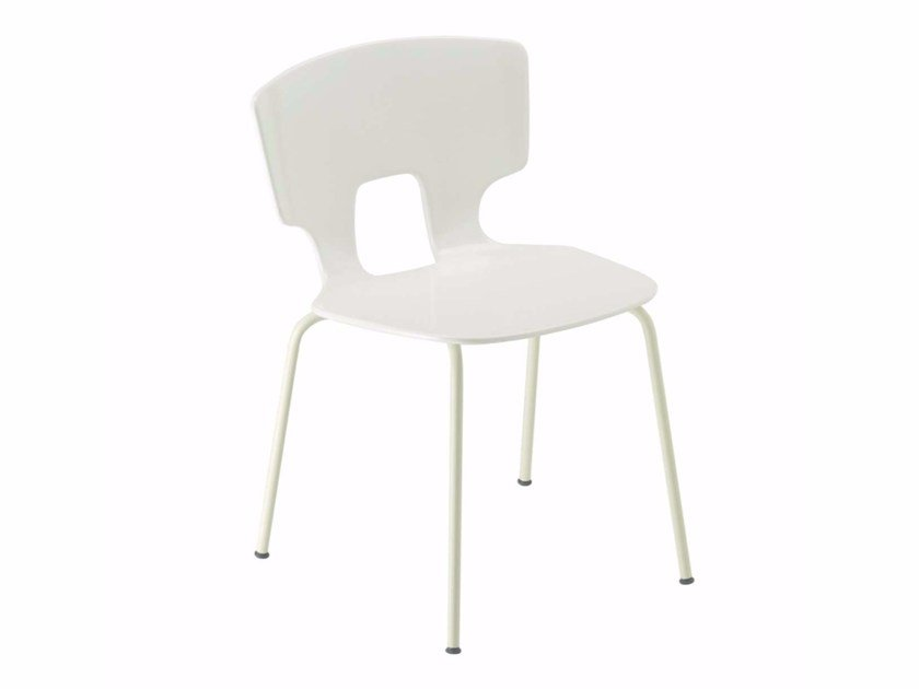 Stackable chair ERICE CHAIR - 50A by Alias