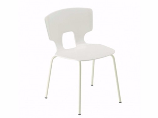 Stackable chair ERICE CHAIR - 50A_O by Alias