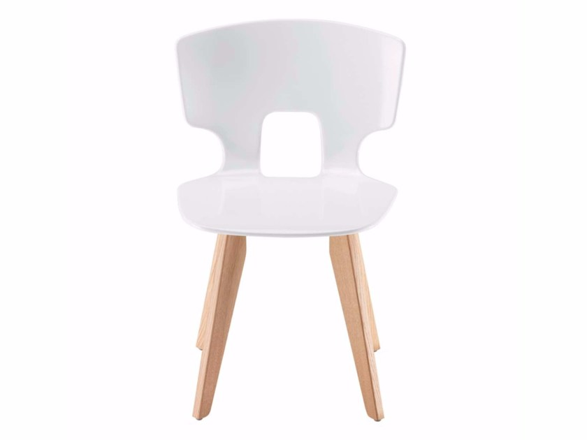 Chair ERICE WOOD - 50E by Alias
