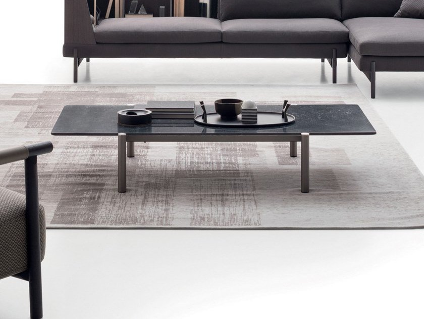 Rectangular Marble Coffee Table Erys By Ditre Italia
