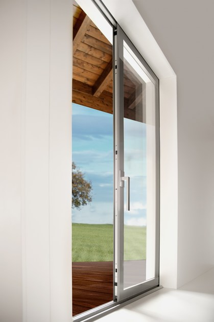 Glass lift and slide window ES ZERO1 A SCOMPARSA by ES FINESTRA