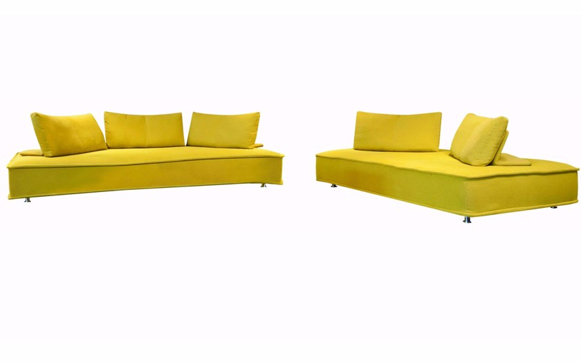 Sectional modular fabric sofa MAH JONG - KENZO TAKADA By ROCHE ...