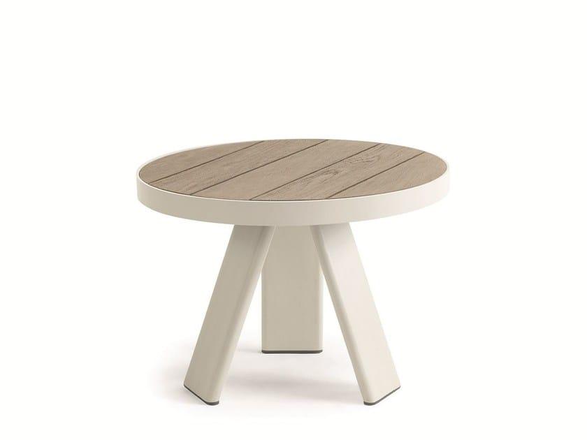 Tavolino Basso Da Giardino.Esedra Tavolino Rotondo