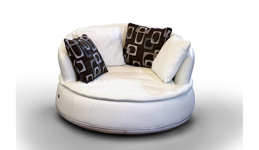 curved 2 seater sofa espace round espace collection by nieri. Black Bedroom Furniture Sets. Home Design Ideas
