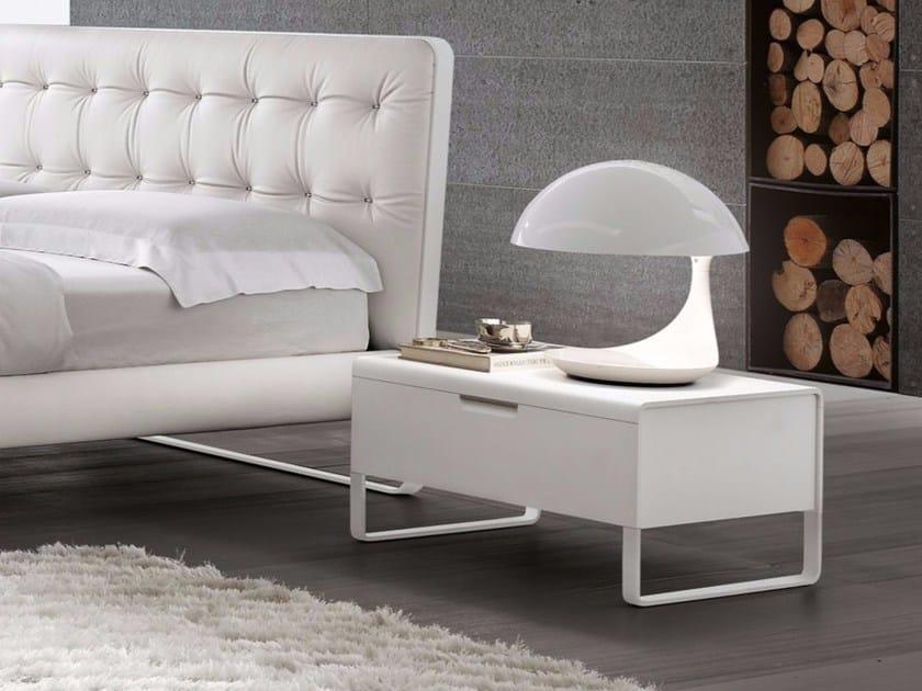MDF bedside table with drawers ESPRIT | Bedside table by ALIVAR