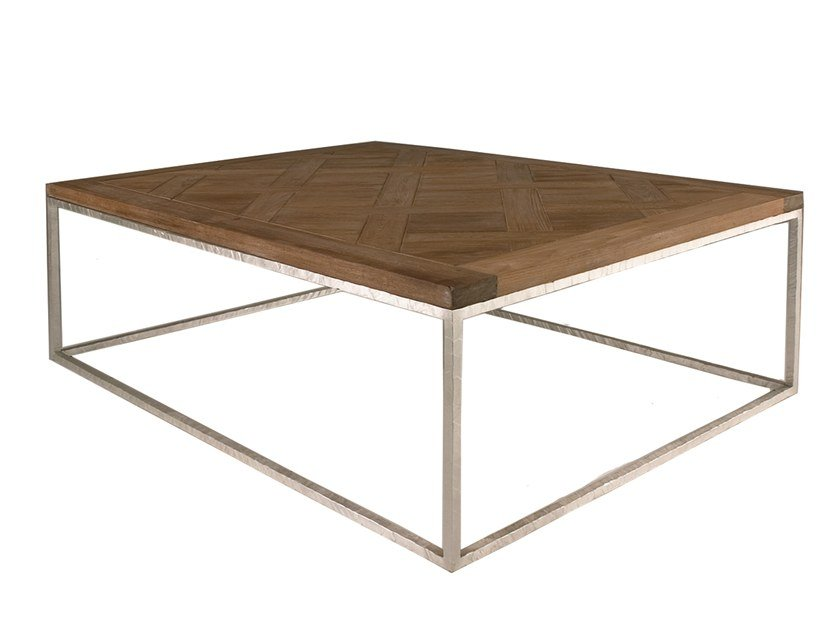 Square oak coffee table ESPRIT by Laval