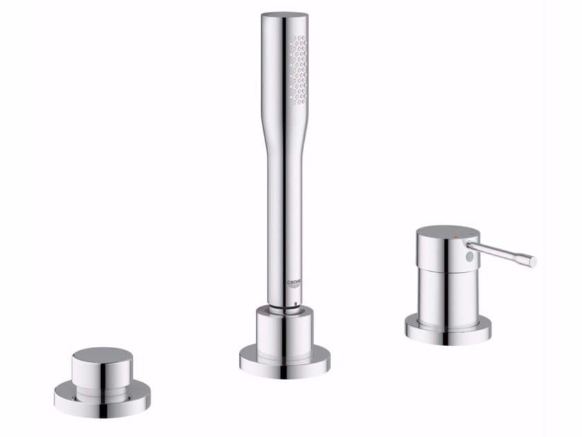 3 hole bathtub set with hand shower ESSENCE NEW | 3 hole bathtub set by Grohe
