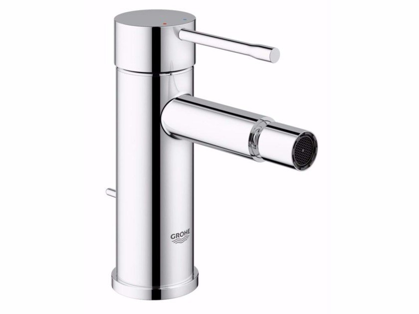 Single handle bidet mixer with swivel spout ESSENCE NEW | Bidet mixer by Grohe